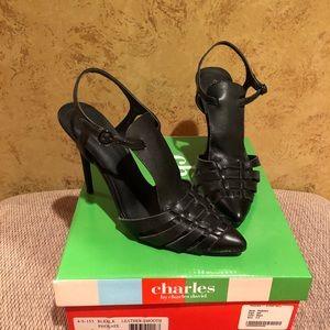 Black Leather Sandal